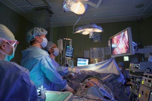 膀胱癌に対する腹腔鏡下膀胱全摘術