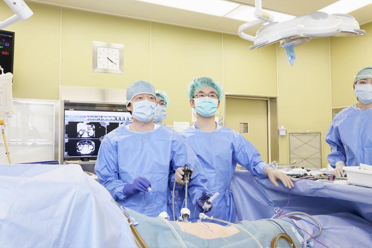 腹腔鏡手術のエキスパートとして